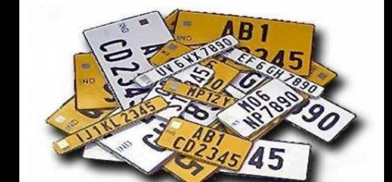High security registration plates on vehicles not call for action on the owners