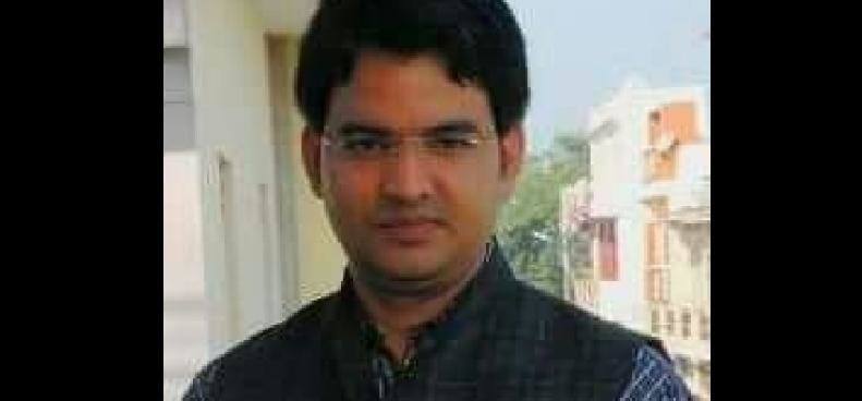 Congress leader's son killed in road accident