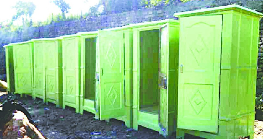 The penalty will be charged to those who practice open defecation
