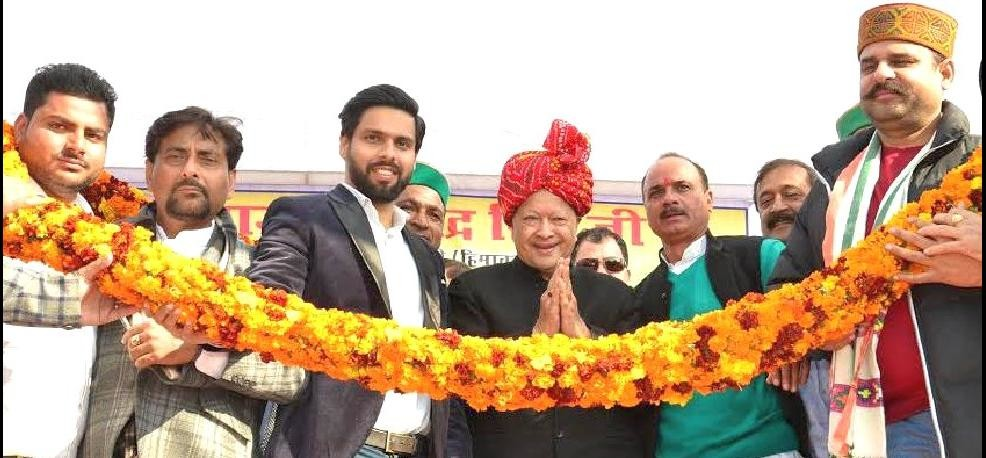CM Virbhadra Singh Statement on BJP at Indora Rally.