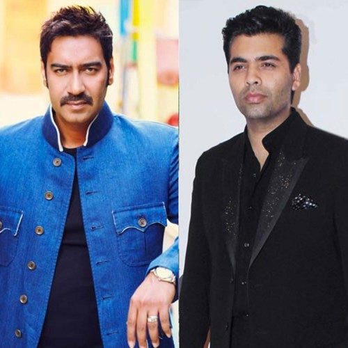 ajay devgan replied to karan johar fight