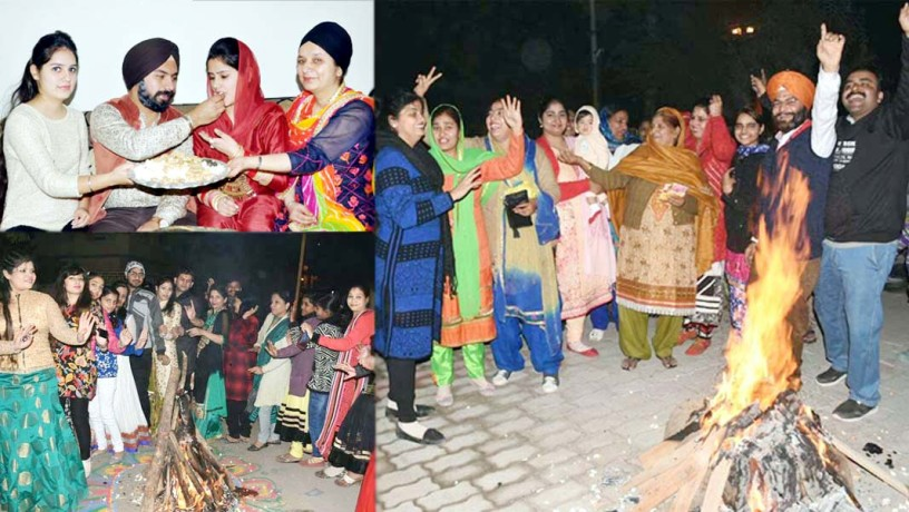 lohri celebration in kanpur