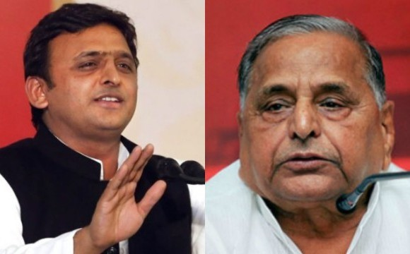 dead people are brought up to sign by akhilesh yadav, mulayam said before EC