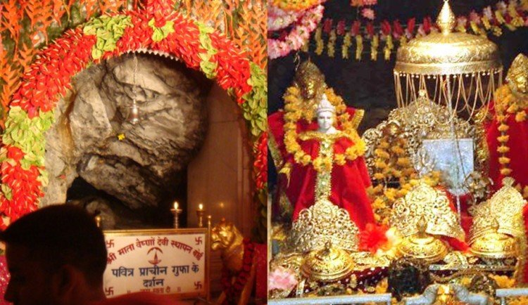 mata vaishno traditional old cave opening time