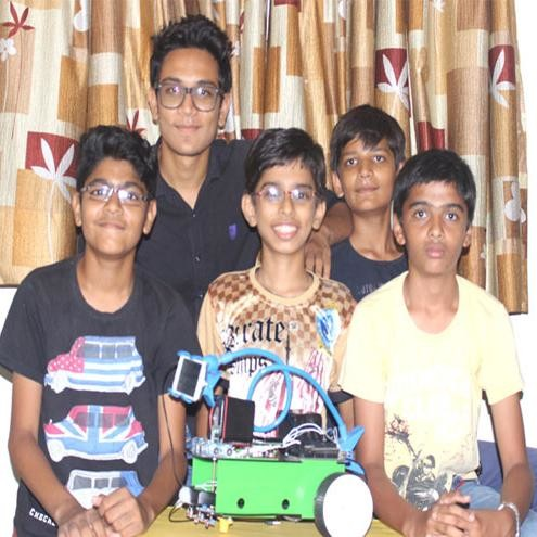 14 Year Old In Gujarat Makes A Drone To Protect Soldiers From Land Mine Blasts
