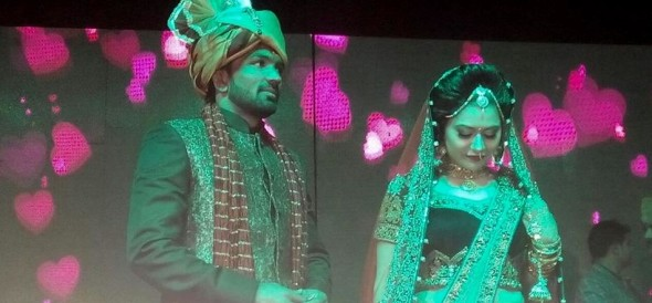 Olympic wrestler Yogeshwar Dutt marriage pictures