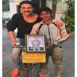akshay kumar met his fan shiva gurjar