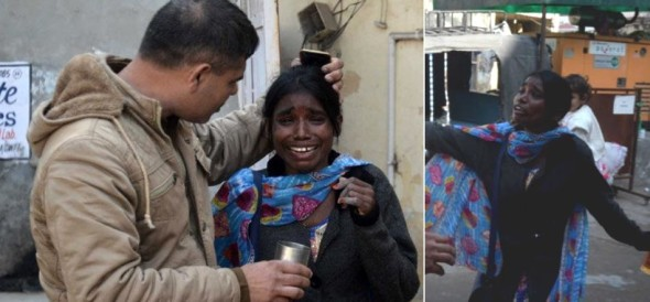 lady try to burn herself at police station at ambala of haryana, read here mournfull story