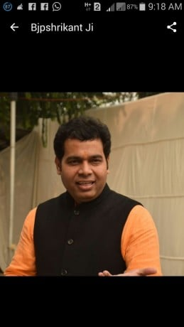RESIGNATION OF MAYAWATI FROM RAJYASABHA IS ALL ABOUT DRAMA SAID BY SRIKANT SHARMA