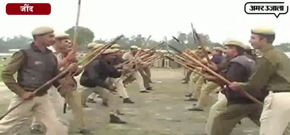 HOMEGUARD TRAINING STARTED TO COPE UP WITH JAAT AGITATION
