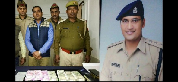 police catch up with five lakh