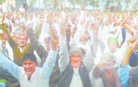Jat reservation, agitation, continued for the second day, protest, jind news