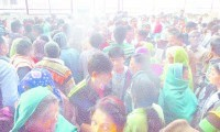 Daughters, two lakh, people rushed over, rumors of government support, jind news