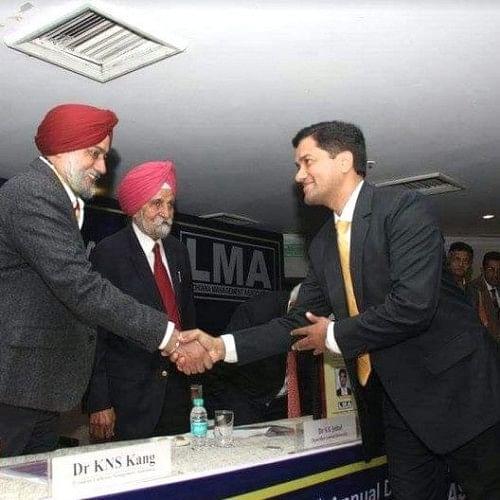 Chotu Sharma Won Young intrapreneur Award.