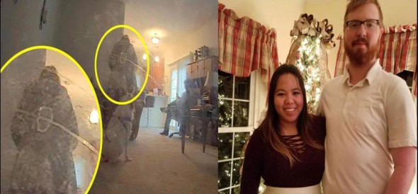 Ghost Found In A Couple's Home In America