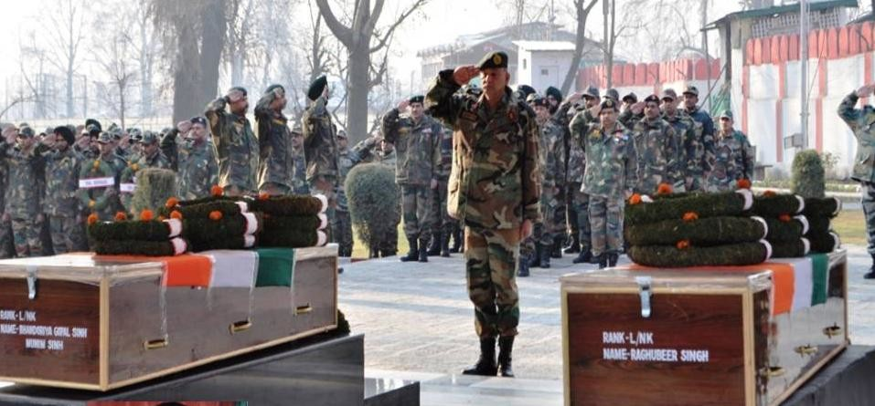 army paid homage to martyrs of kulgam