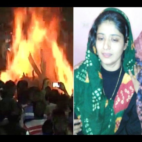 handwara encounter martyr major satish dahiya wife sujata big statement at the time of funeral