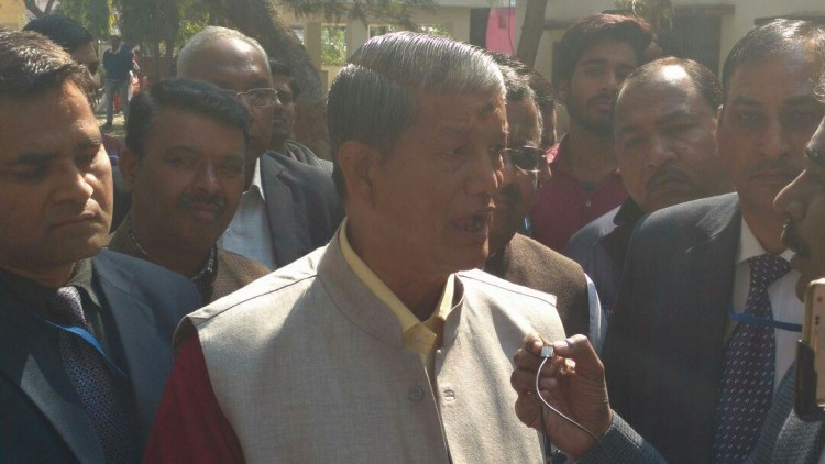 harish rawat allegation on bjp