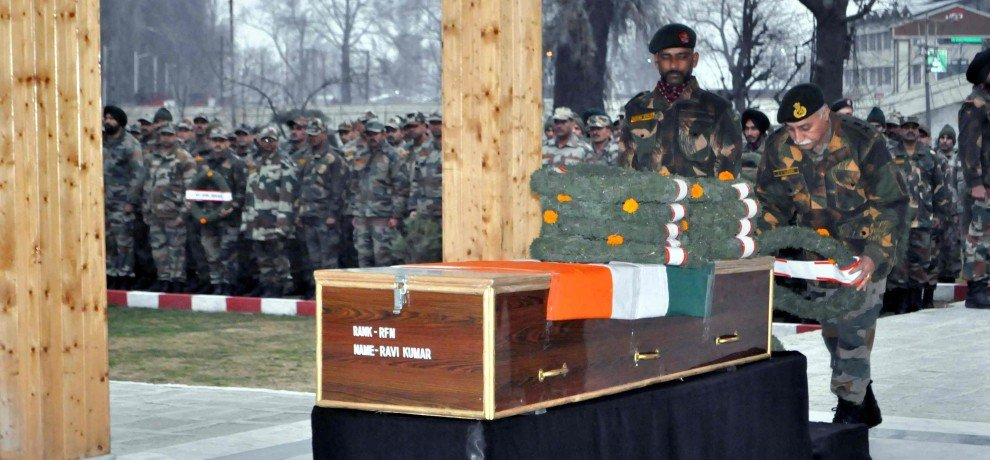 last rites to the martyrs of handwara and bandipora martyrs