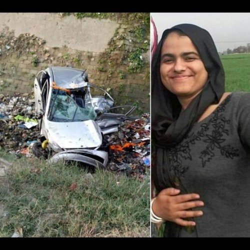 nri man and his daughter-in-law killed in road accident at jalandhar of punjab