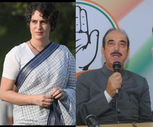 gulam nabi azad speaks about priyanka vadra role in UP election.