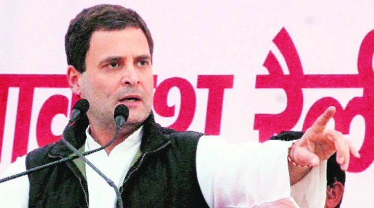 rahul gandhi five questions about modi government