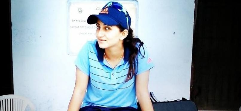 Himachali Cricketer Nikita Chauhan Scored Double Hundered.