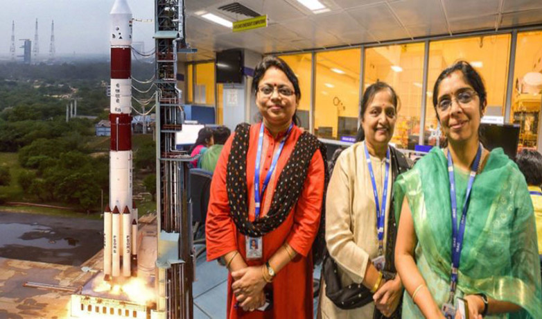 Women Behind The Successful Operations In ISRO