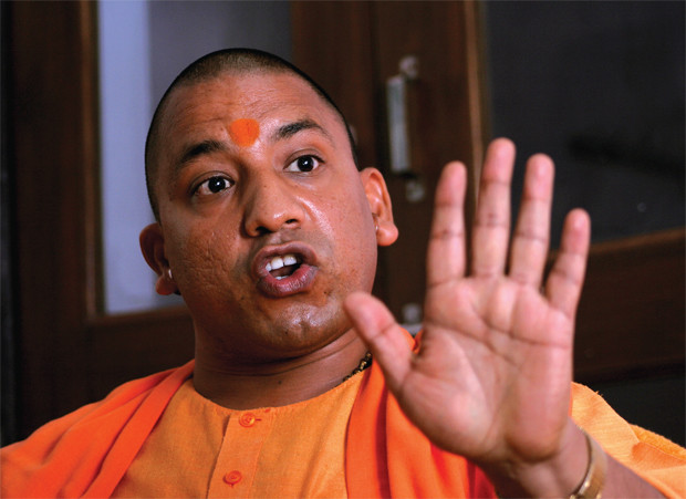 yogi adityanath says sp gives riots only