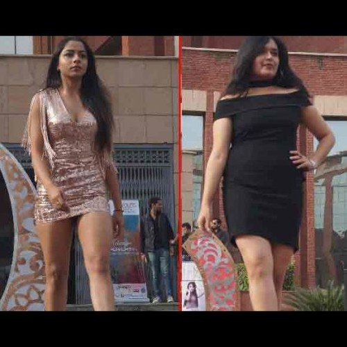 Fashion show  by students in amity university