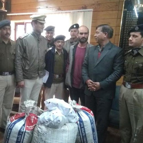 Kullu Police Caught Foriegn Citizen with 3.50 Crore Drugs.