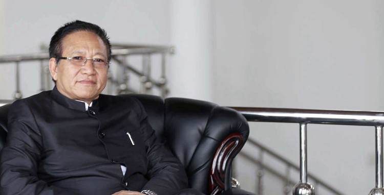 Nagaland CM TR Zeliang in Delhi to plead against President's Rule in state