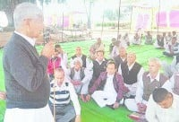 Talks on the government of going back on his habit: Barot, Kurukshetra