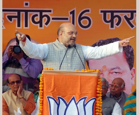 amit shah rally in amethi