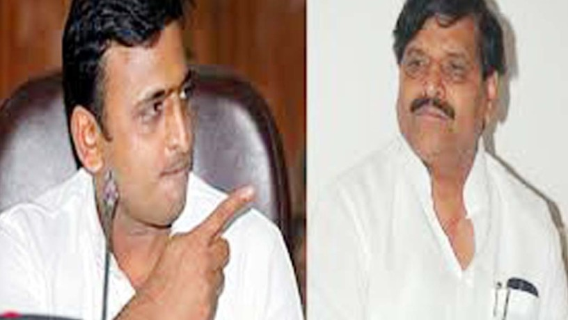 gestures gestures akhilesh says against shivpal