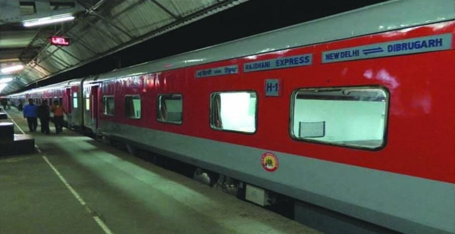 Rajdhani express got lousy food, Created a stir from deteriorating health of passengers