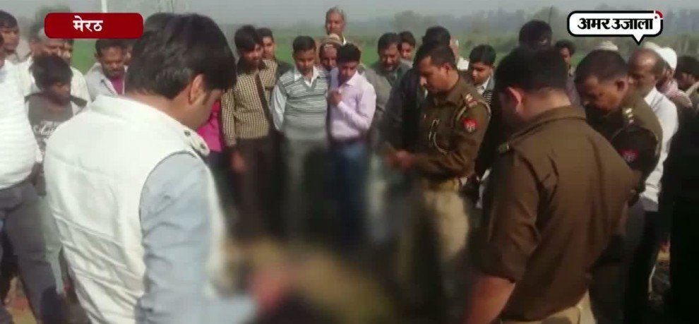 Did Uncle killed his nephew for land dispute in Meerut's village?