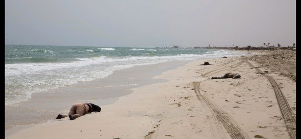 74 found dead on Libyan beach