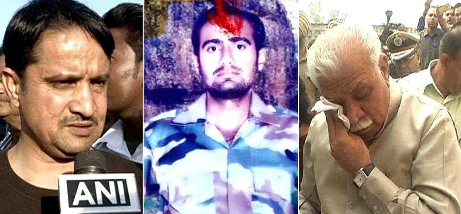martyr mandeep singh kin appeal to pm modi for promised compensation