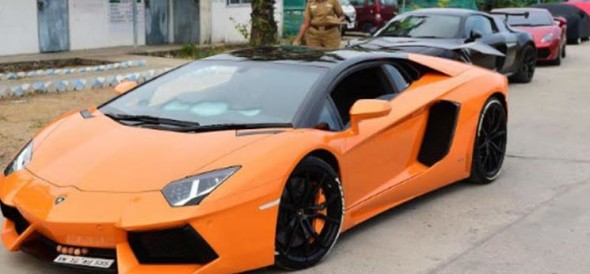 10 sports cars seized by police in chennai for rash driving