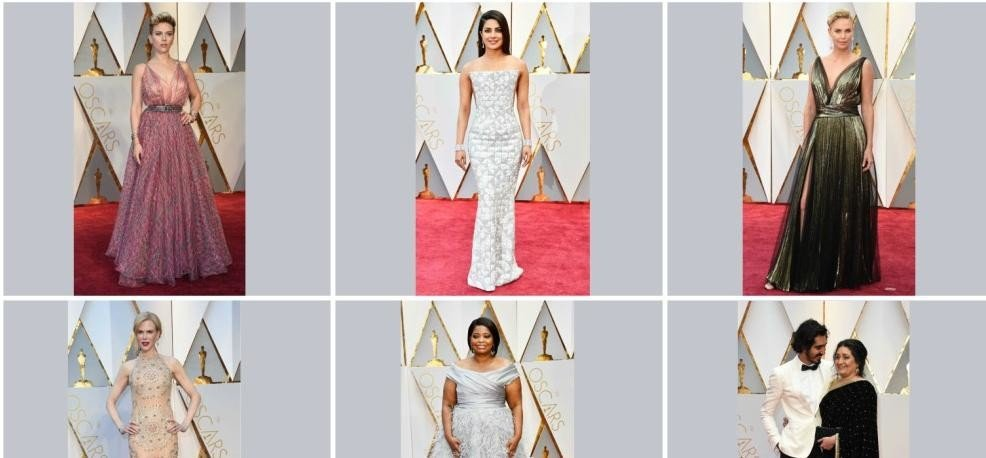 oscars 2017stars on red carpet