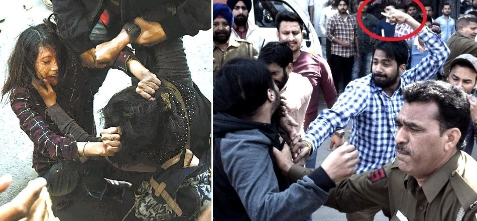 After Ramjas college another clash in Punjab university