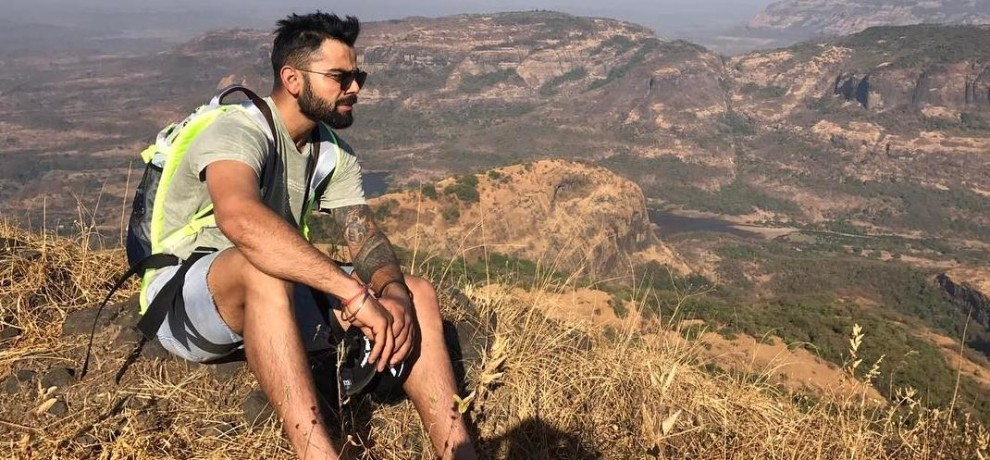 Virat Kohli and Ajinkya Rahane Went For Trekking