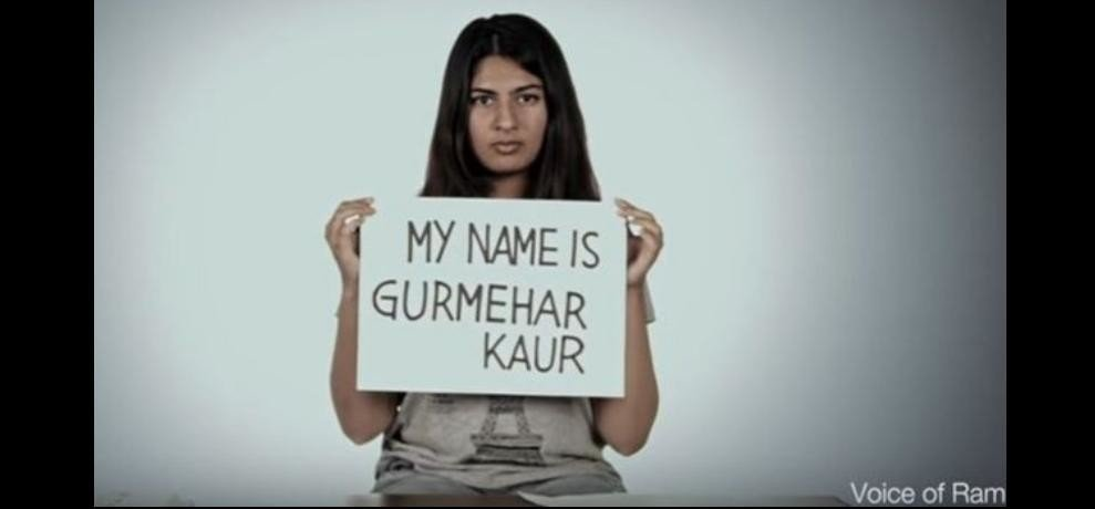 time magazines included gurmehar kaur in its next generation leaders list