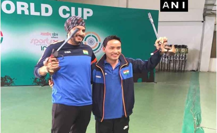 ISSF World Cup: Jitu Rai wins gold, Amanpreet Singh bags silver in 50m air pistol event