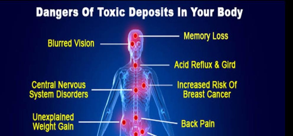 sign and symptoms of toxins in your body
