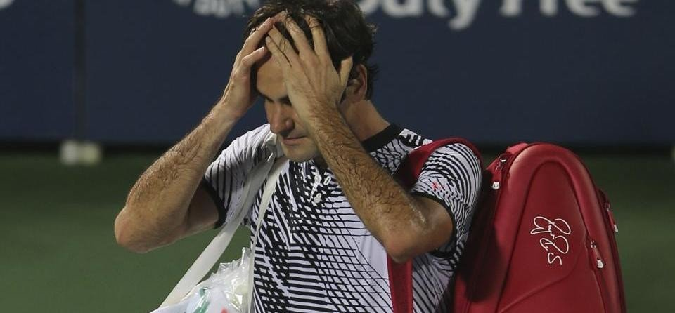Roger Federer faced a shock defeat to world No. 116 Evgeny Donskoy in Dubai Tennis Championships