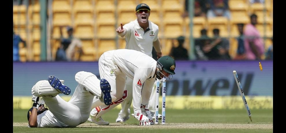 India Vs Australia 2nd Test From Bengaluru Live Day One