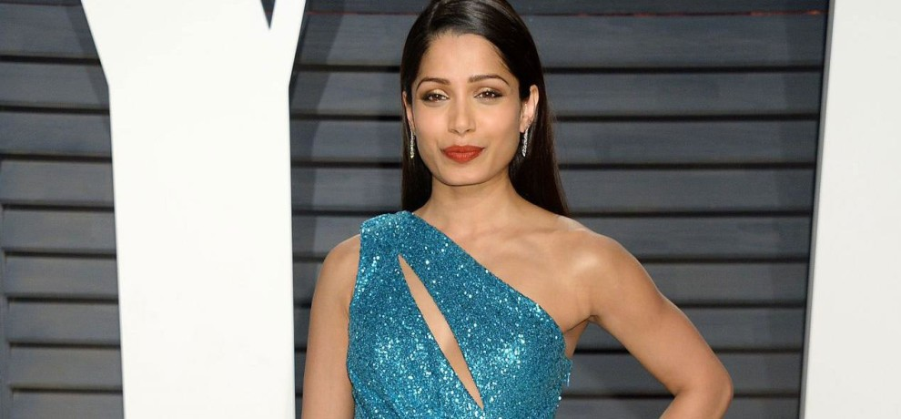 Freida Pinto served 800 poor people with Oscars 2017 leftover food