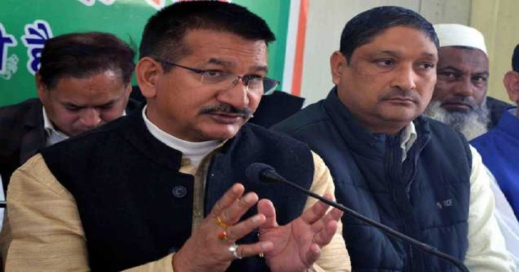 kishor upadhyay blame cm trivendra for bad condition of uttarakhand